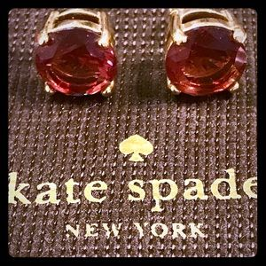 Kate Spade ♠️ Pink gold tone studs!
